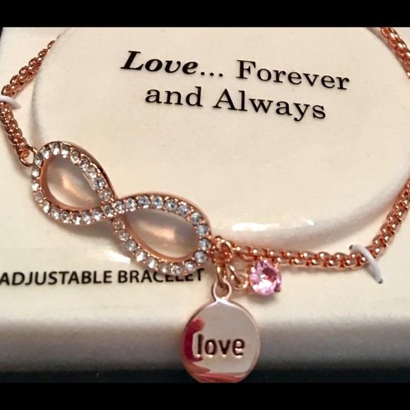 96389c822dbfa New Love Forever & Always Adjustable Bracelet!